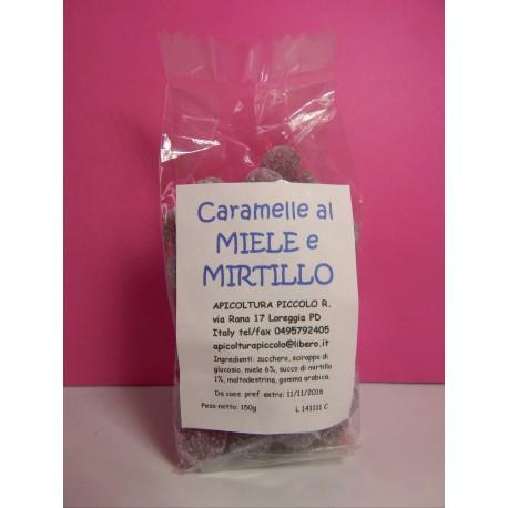 CARAMELLE MIELE E MIRTILLO