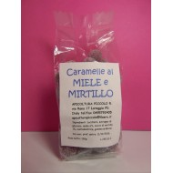 CARAMELLE MIELE E MIRTILLO