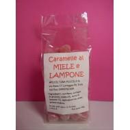 CARAMELLE MIELE E LAMPONE
